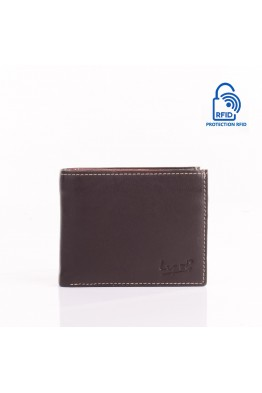LUPEL SOFT L405S1 Portefeuille en cuir Protection RFID