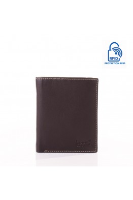 LUPEL® - L628S1 leather wallet with RFID protection