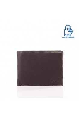 LUPEL AGRESTE L632S1 Portefeuille en cuir multicolore Protection RFID