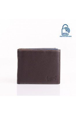 LUPEL® - L405S2 leather wallet with RFID protection