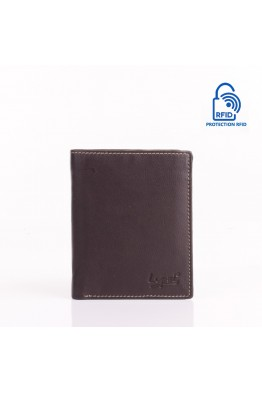LUPEL® - L628S2 leather wallet with RFID protection
