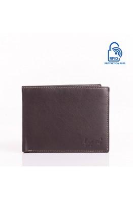 LUPEL AGRESTE L632S2 Portefeuille en cuir multicolore Protection RFID