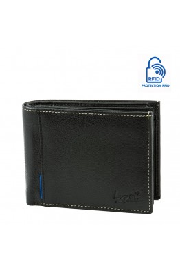 LUPEL® - L415SO leather wallet with RFID protection