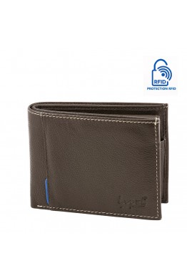 LUPEL® - L483SO leather wallet with RFID protection