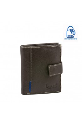 LUPEL® - L493SO leather wallet with RFID protection