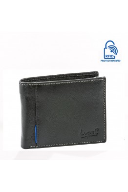 LUPEL SOFT L496SO Portefeuille en cuir Protection RFID