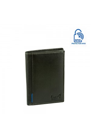 LUPEL SOFT L613SO Portefeuille en cuir Protection RFID