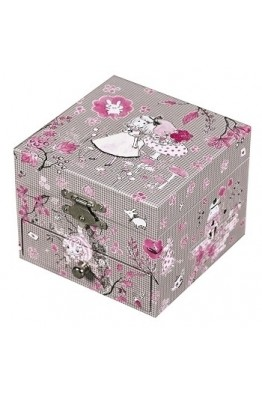 S20604 Trousselier Boite musique Cube Alice