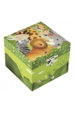 S20922 Coffret Musique Cube Jungle vert