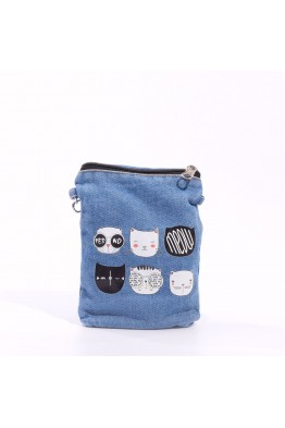 LW6251 POCHETTE BANDOULIERE CHAT