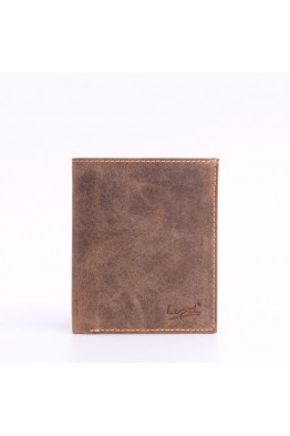 LUPEL® - L401AV Leather wallet - Vintage style