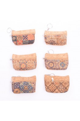 KJ90019-12 Cork coin purse