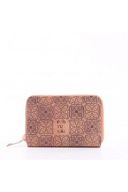 KJ86074 Portefeuille / porte-monnaie en liège