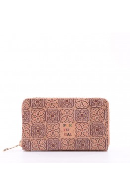 KJ86075 Portefeuille / porte-monnaie en liège