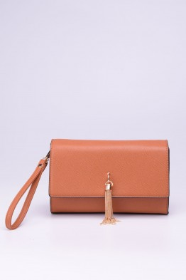 Synthetic crossbody bag B8855