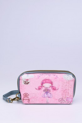 C051-3 Pochette trousse synthétique Sweet & Candy