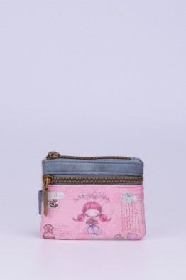 C-071 Porte-monnaie synthétique Sweet & Candy