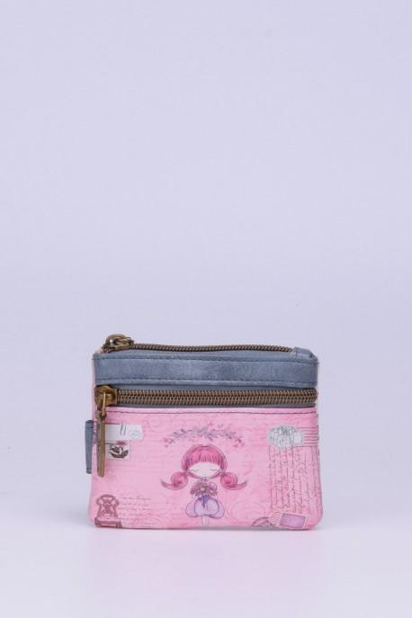C-071 Porte-monnaie synthétique Sweet & Candy