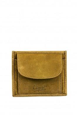 L508AV-R Porte-monnaie en cuir LUPEL® - Avec protection RFID
