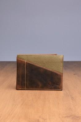 """L433DE Portefeuille format """"italien"""" en cuir LUPEL® DENIM - Avec protection RFID"""