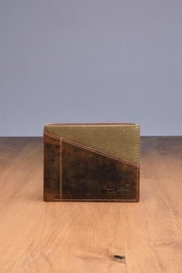 L439DE Portefeuille en cuir LUPEL® DENIM - Avec protection RFID