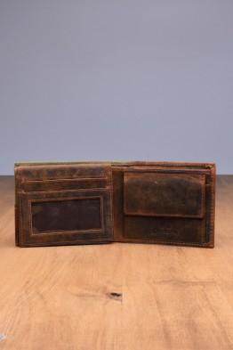 L496DE Portefeuille en cuir LUPEL® DENIM - Avec protection RFID