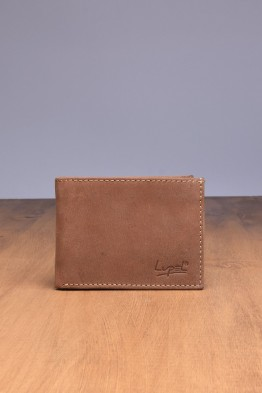 LUPEL® - L296AV-R Leather Wallet with RFID protection