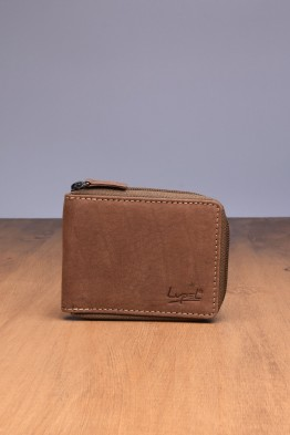 LUPEL® - L404AV-R Leather Wallet with RFID protection