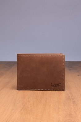 LUPEL® - L415AV-R Leather Wallet with RFID protection