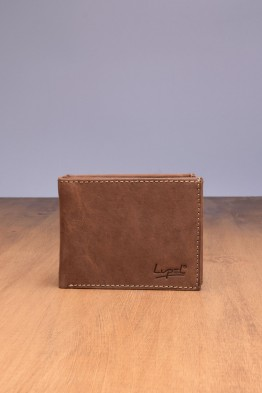 LUPEL® - L428AV-R Leather Wallet with RFID protection