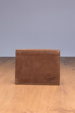 LUPEL® - L429AV-R Leather Wallet with RFID protection