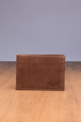 LUPEL® - L509AV-R Leather Wallet with RFID protection