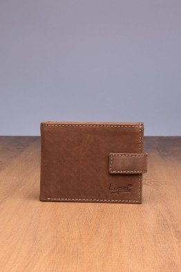 LUPEL® - L523AV-R Leather Wallet with RFID protection