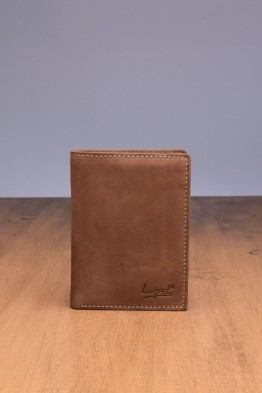 LUPEL® - L613AV-R Leather Wallet with RFID protection