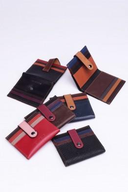 KJ8882 Porte-carte cuir Lot de 6