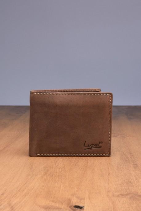 Porte-monnaie en cuir LUPEL® - L508AV