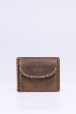 Porte-carte / Porte-monnaie en cuir LUPEL® - L477AV