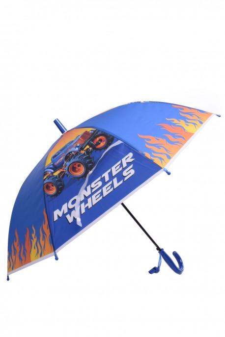 """RST045 boy's umbrella """"Monster Truck blue"""""""