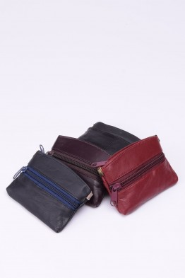 Pack of 12 Lambskin leather Coin Purse