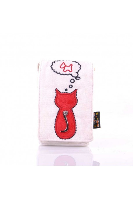 01-408 Small Phone Pouch Animob