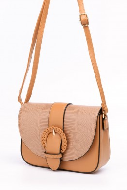 Synthetic croco crossbody bag CX-0302