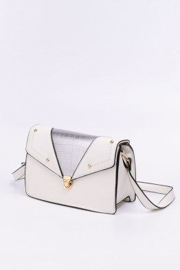 Synthetic crossbody bag FZ-31295