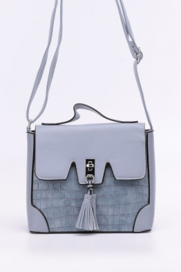 Synthetic crossbody bag LT8078