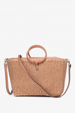 FU17164-50 Straw bag