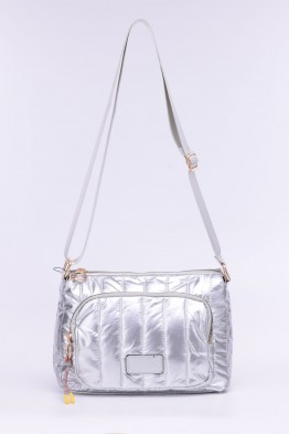 Synthetic crossbody buffy bag ZF-9907