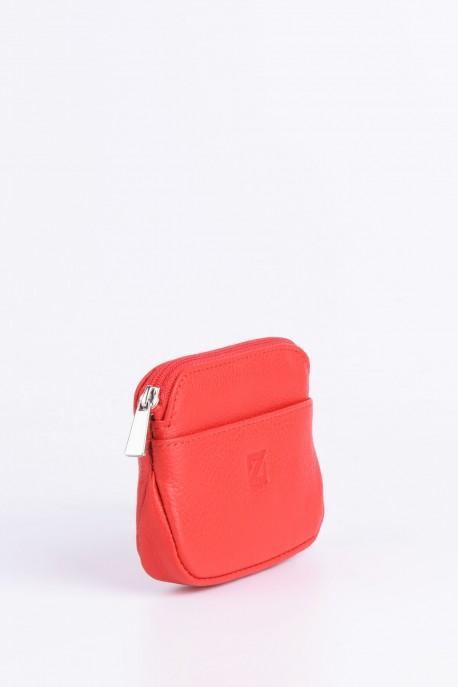 ZEVENTO ZE-2122 Leather coins purse