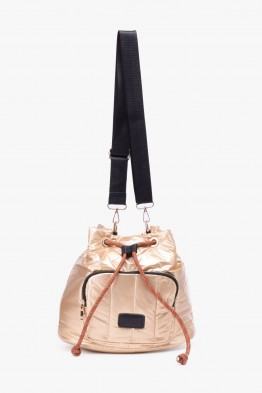 Synthetic crossbody buffy bag ZF-66187