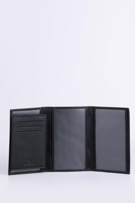 ZEVENTO ZE-2131 Leather documents holder