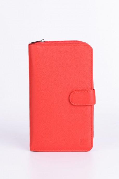 ZEVENTO ZE-2127 Big Leather wallet