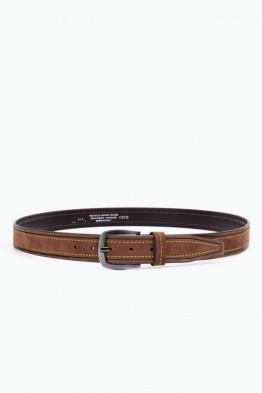 ZE-014-35 Leather Belt - Brown